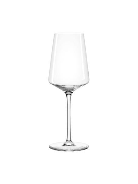 Bicchiere da vino bianco Puccini 6 pz, vetro Teqton®, Trasparente, Ø 8 x Alt. 23 cm