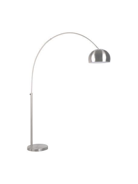 Lampa podłogowa w kształcie łuku Metal Bow, Stelaż: metal, szczotkowany, Metalowy, S 170 x W 205 cm