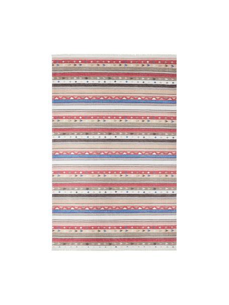 Tappeto a righe Senon, Retro: poliestere, Multicolore, Larg. 180 x Lung. 280 cm (taglia M)