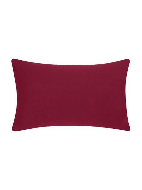 Poszewka na poduszkę z bawełny Mads, 100% bawełna, Czerwony, S 30 x D 50 cm