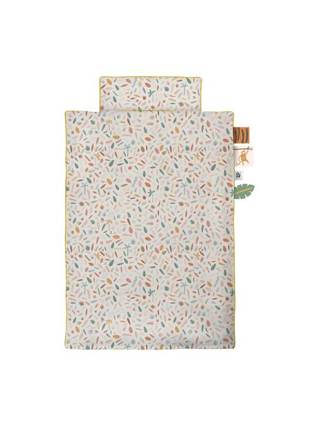 Ropa de cama en jersey Junior Wildlife, 2 pzas., Multicolor, 100 x 135 cm