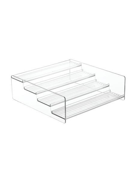 Organizador de cocina Linus, Acrílico, Transparente, An 28 x Al 9 cm