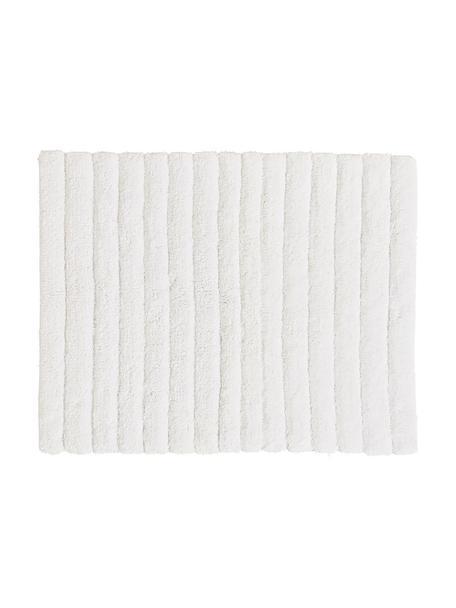 Tappeto bagno morbido Board, Cotone, qualità pesante 1900g/m², Bianco, Larg. 50 x Lung. 60 cm