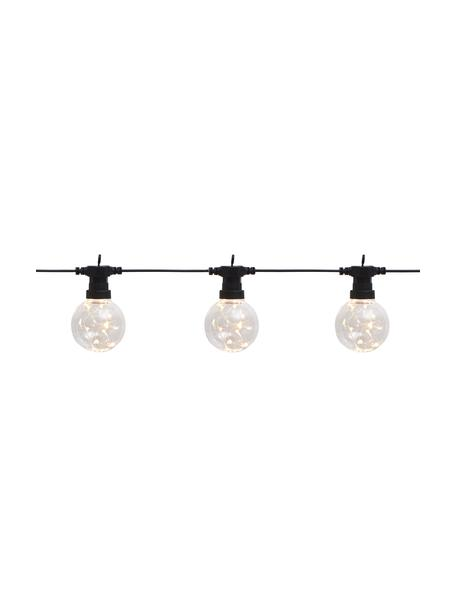 LED-Lichterkette Big Cirkus, 950 cm, Lampions: Kunststoff, Schwarz, L 950 cm