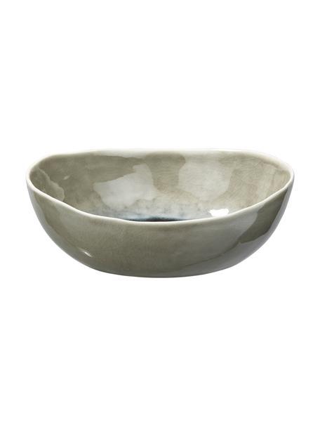 Boles Porcelino Sea, 6uds., Porcelana, Gris verdoso, beige, Ø 20 x Al 5 cm