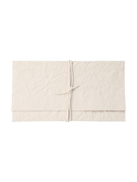 Enveloppe Soft, Papier, Crèmekleurig, 27 x 15 cm