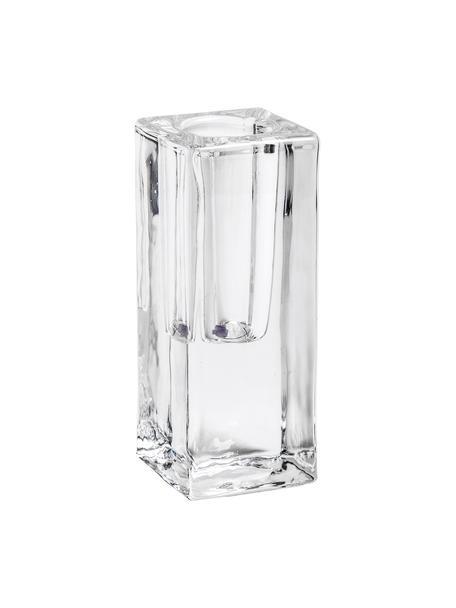 Kerzenhalter Classic, Glas, Transparent, 4 x 10 cm