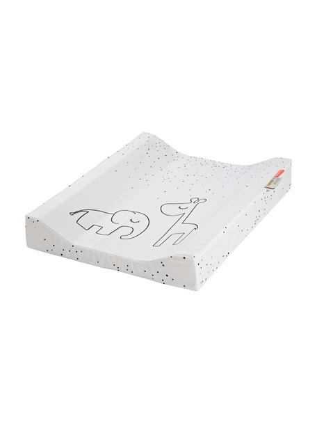 Wickelkissen Dreamy Dots, Bezug: 100% Baumwolle, Oeko-Tex-, Matratze: 100% PU-Schaumstoff, Weiß, 50 x 65 cm