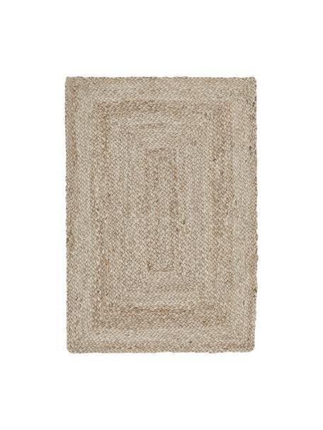 Handgefertigter Jute-Teppich Sharmila, Beige, B 60 x L 90 cm (Größe XXS)