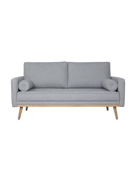 Sofá Saint (2plazas), Tapizado: poliéster Alta resistenci, Estructura: madera de pino maciza, ag, Tejido gris azulado, An 169 x F 93 cm