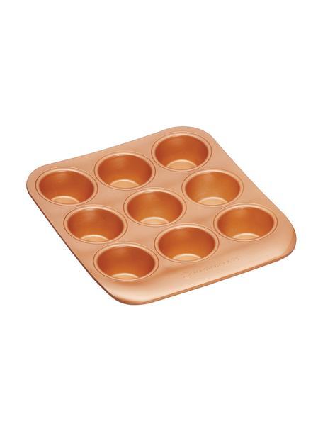 Muffinbackform Smart in Kupfer, Stahl, Keramik, Kupferfarben, B 23 x T 25 cm