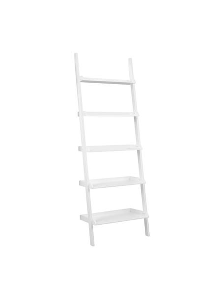 Ladder wandrek Wally in wit, Gelakt MDF, Wit, 67 x 189 cm