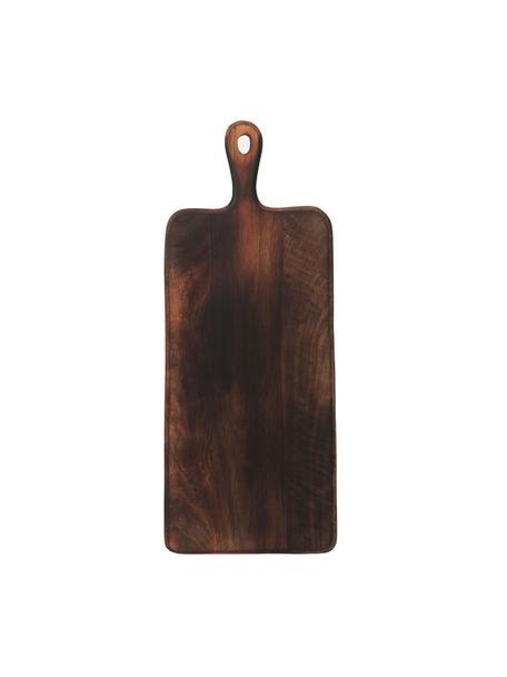 Tagliere in legno di mango Branek, Legno di mango, Marrone scuro, Larg. 50 x Alt. 1 cm
