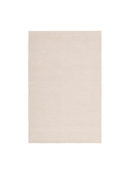 Tappeto in cotone tessuto a mano Agneta, 100% cotone, Beige, Larg. 120 x Lung. 180 cm (taglia S)