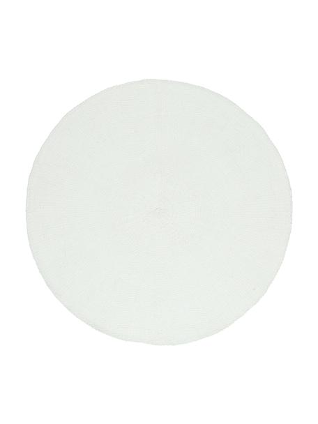 Okrągła podkładka Kolori, 2 szt., Włókna papierowe, Biały, Ø 38 cm