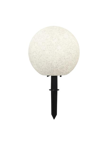 Outdoor LED lamp Gardenlight, Kunststof, Wit, zwart, Ø 29 x H 30 cm