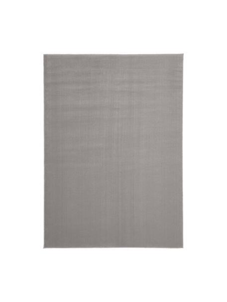 Tappeto in lana grigio Ida, Retro: 60% juta, 40% poliestere, Grigio, Larg.160 x Lung. 230 cm  (taglia M)