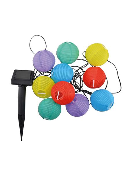 Ghirlanda  a LED Lampion, 380 cm, Materiale sintetico, Multicolore, Lung. 380 cm