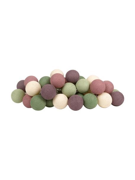 Ghirlanda  a LED Colorain, Verde, tonalità viola, bianco, Lung. 354 cm