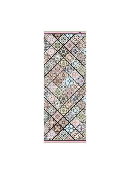 Alfombra vinílica Aylin, antideslizante, Vinilo reciclable, Multicolor, An 68 x L 180 cm