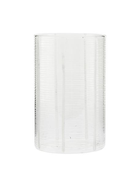 2in1 vaas en windlicht Ramona, Glas, Transparant, Ø 10 x H 16 cm