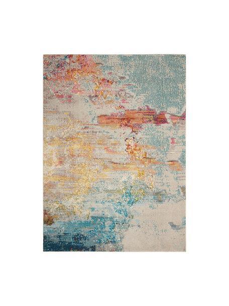 Tappeto di design Celestial, Retro: juta, Multicolore, Larg. 120 x Lung. 180 cm (taglia S)