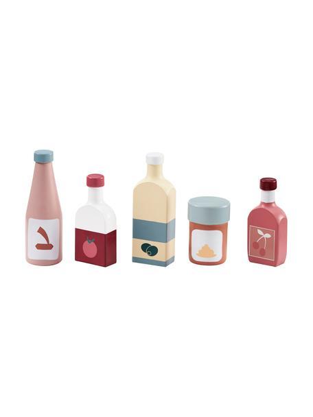 Spielzeug-Set Bottle, 5-tlg., Holz, Mehrfarbig, Set mit verschiedenen Grössen