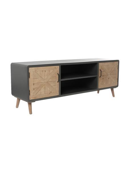 Mueble TV Ella, Cuerpo: hierro, Multicolor, An 160 x Al 58 cm