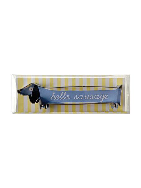 Formina per biscotti Sausage Dog, Acciaio inossidabile, Acciaio inossidabile, Larg. 16 x Alt. 6 cm