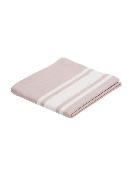 Tischdecke New French, Baumwolle, Rosa, Weiß, Für 6 - 8 Personen (B 140 x L 250 cm)