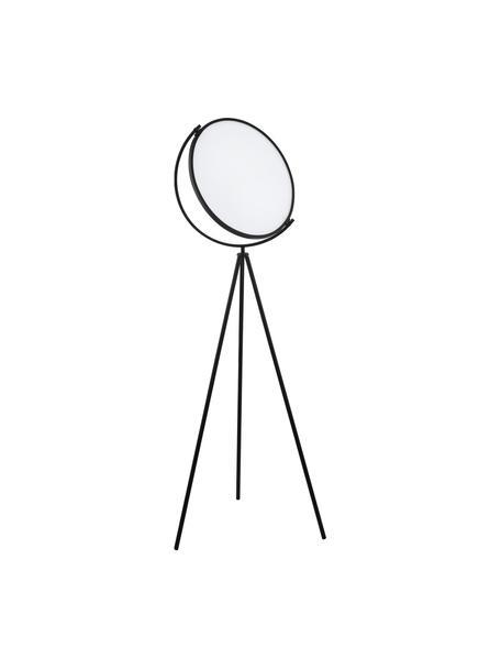 Lámpara de pie trípode LED Renitale, Cable: plástico, Negro, Ø 43 x Al 153 cm