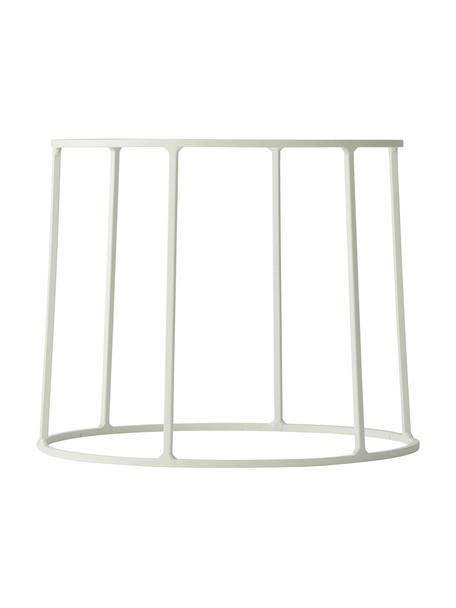 Stand per portavaso in acciaio Wire Base, Acciaio verniciato a polvere, Bianco, Ø 23 x Alt. 20 cm