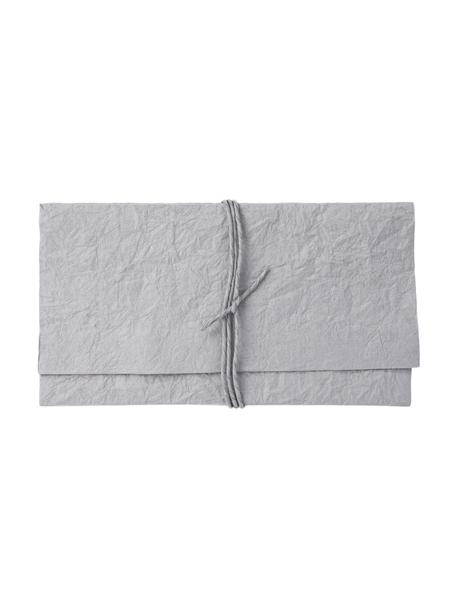 Okładka Soft, Papier, Szary, matowy, S 27 x W 15 cm