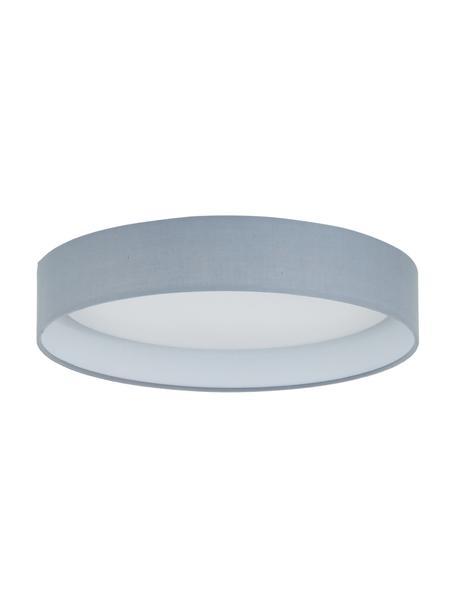 LED-plafondlamp Helen in grijs, Frame: metaal, Diffuser: kunststof, Grijs, Ø 35 x H 7 cm