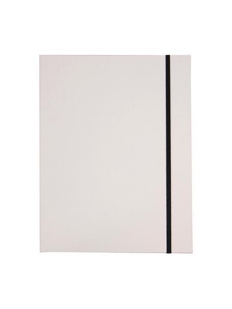 Cartella Paulina, 2 pz, Bianco, L 23 x A 32 cm
