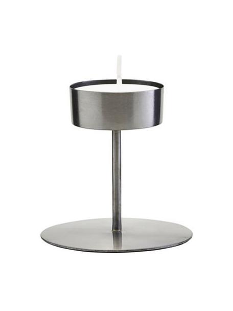 Teelichthalter Anit, Metall, Metall, Ø 11 x H 10 cm