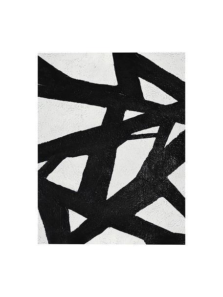 Cuadro Roads, Negro, blanco, An 80 x Al 100 cm