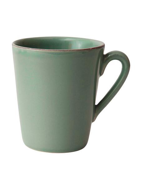 Tazza verde salvia Constance 2 pz, Terracotta, Verde salvia, Ø 9 x Alt. 10 cm