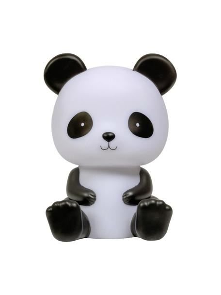 Lampa dekoracyjna LED z funkcją timera Panda, Tworzywo sztuczne, bez BPA, ołowiu i ftalanów, Biały, czarny, S 12 x W 19 cm
