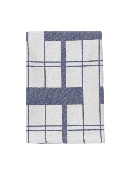 Serwetka z tkaniny Earl, 2 szt., 100% bawełna, Szary, S 45 x D 45 cm