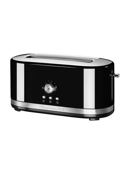 Langschlitz-Toaster KitchenAid, Gehäuse: Aluminiumdruckguss, Edels, Schwarz, 42 x 20 cm