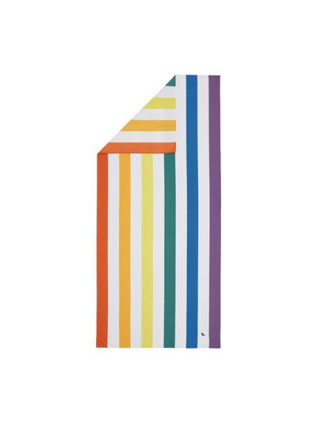 Microvezel strandlaken Cabana, sneldrogend, Microvezels (80% polyester, 20% polyamide), Multicolour, wit, 90 x 200 cm