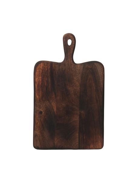 Tagliere in legno di mango Branek, Legno di mango, Marrone scuro, Larg. 40 x Alt. 1 cm