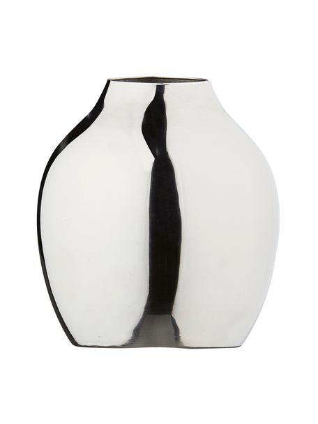 Kleine Vase Gunnebo aus Metall, Metall, lackiert, Metall, Ø 8 x H 10 cm