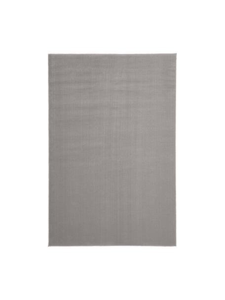 Tappeto in lana grigio Ida, Retro: 60% juta, 40% poliestere, Grigio, Larg. 120 x Lung. 180 cm (taglia S)