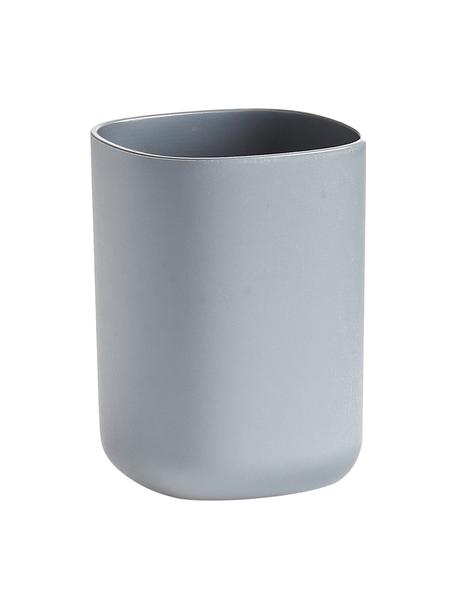 Zahnputzbecher Yilma, Kunststoff, Grau, 7 x 10 cm