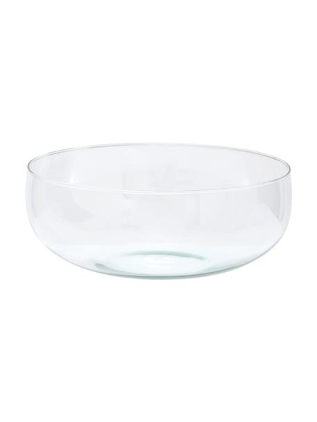 Schüssel Urban aus recyceltem Glas, Ø 28 cm, Recyceltes Glas, Transparent, Ø 28 x H 11 cm