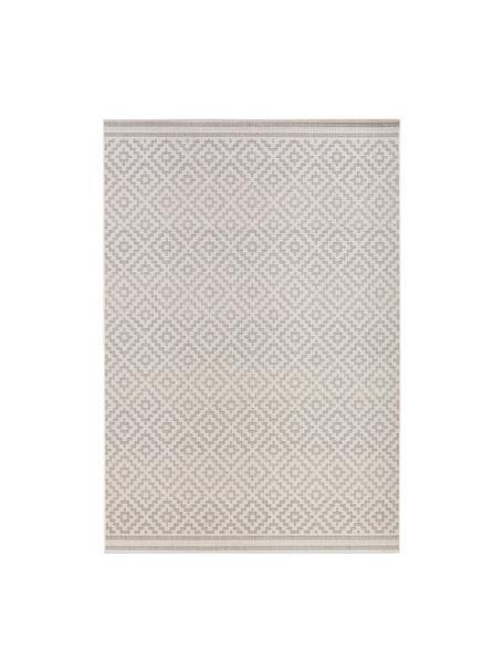 Alfombra de interior/exterior Meadow Raute, Gris, beige, An 160 x L 230 cm (Tamaño M)