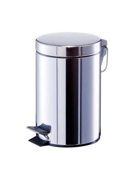 Abfalleimer Tinni mit Pedal-Funktion, Edelstahl, Kunststoff, Edelstahl, Ø 17 x H 26 cm