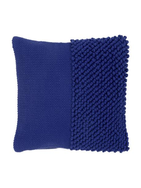 Funda de cojín Andi, 90%acrílico, 10%algodón, Azul, An 40 x L 40 cm